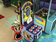Kościlda przy automacie