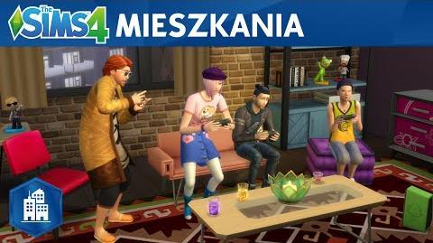 The Sims 4 Miejskie życie oficjalny zwiastun mieszkań