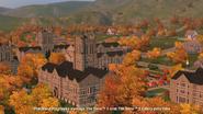 Sims university autumn