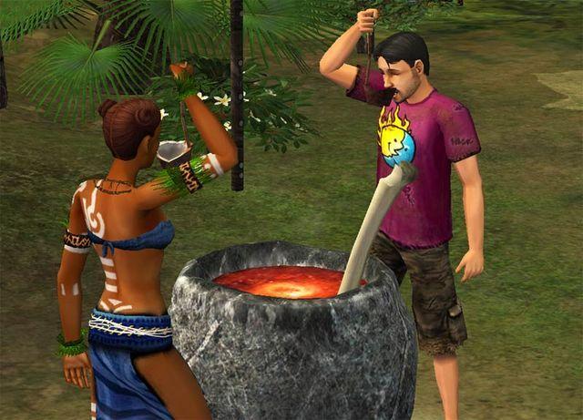 The Sims Historie z Bezludnej Wyspy