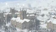 Sims university winter