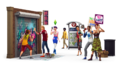 Render - the sims 4 miejskie życie
