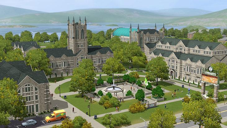 Uniwersytet Simowy (The Sims 3: Studenckie życie)