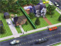 SimsVille Screen Ulica