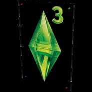 TS2OŻ Plakat z logo The Sims 3