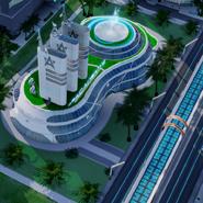 SimCity MP - Akademia - dobudówka 2