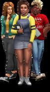 The Sims 4 Uniwersytet render 1