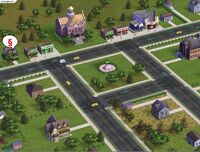SimsVille Screen Dzielnica