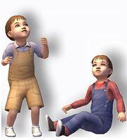TS2 Render Małe dzieci