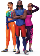 The Sims 4 Fitness render 1