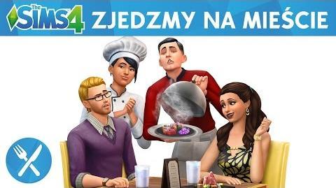 The Sims 4 Zjedzmy na mieście oficjalny zwiastun