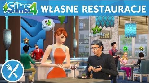 The Sims 4 Zjedzmy na mieście Własne restauracje – oficjalny zwiastun
