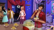 Ts4 popcorn