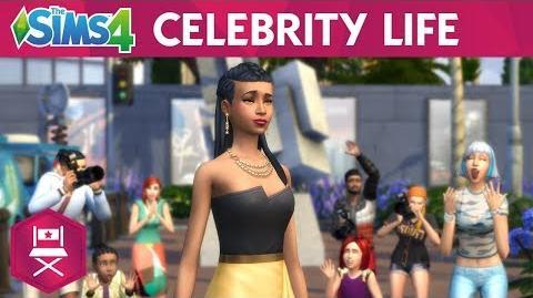 The Sims™ 4 Zostań gwiazdą zwiastun ukazujący życie celebrytów