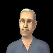 Elwin jako staruszek