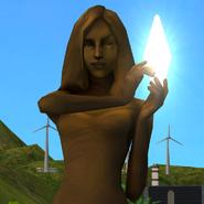 TS2 Posąg Twarz