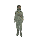 Model spacesuit