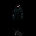 Model raincoat