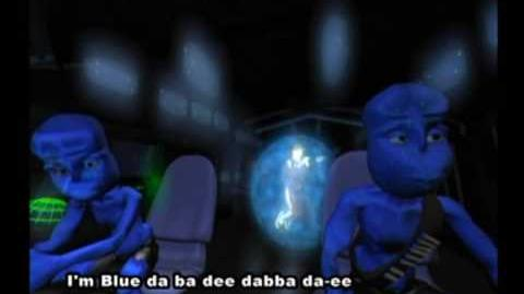 Eiffel 65 - Blue (Da Ba Dee) Gabry Ponte Ice Pop Mix (Original Video with subtitles)