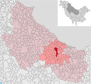 Localización de Valea Ioanistu