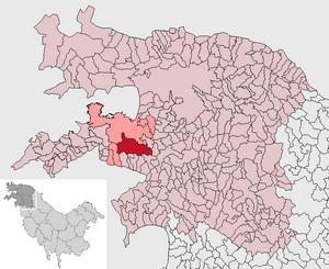 Localización de Zaranest