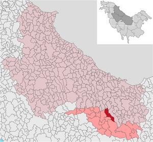 Localización de Oprisest