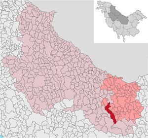 Localización de Valea-Salea