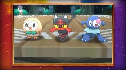 Die Starter-Pokémon von Pokémon Sonne und Pokémon Mond wurden enthüllt!