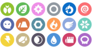 Mobile - Pokemon HOME - Type Icons