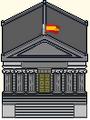 Congreso de los Diputados (idea preliminar con bandera)