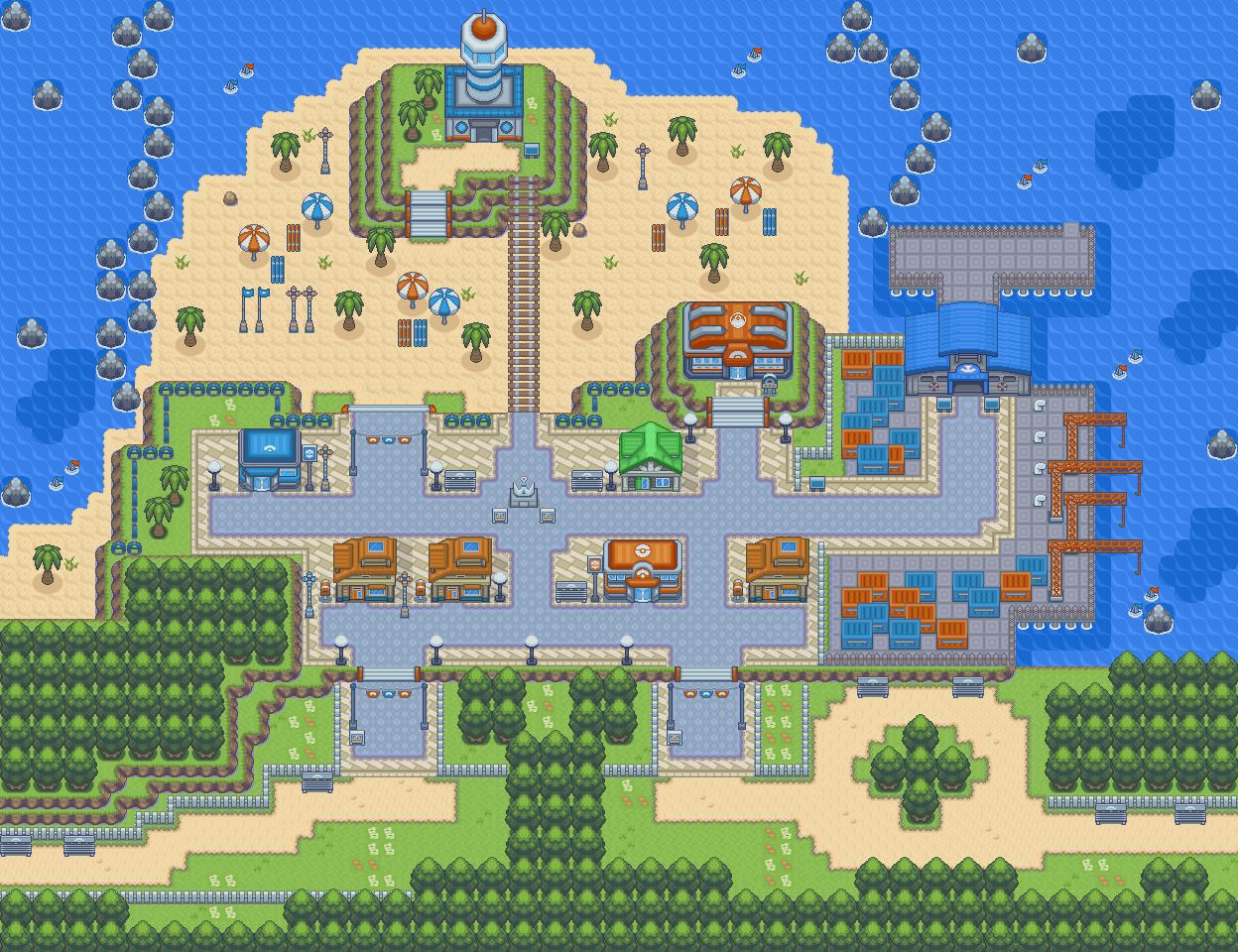 Platinum lauren light region guide pokemon walkthrough Pokemon