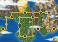Johto region map