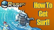 Pokemon Planet - How To Get Surf!