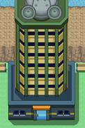 Battle tower exterior