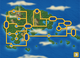 map of the Hoenn region