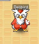 Delibird during Christmas Event