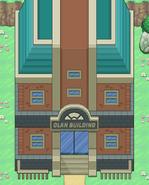 Clan building Exterior
