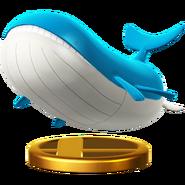 고래왕 피규어 Wii U