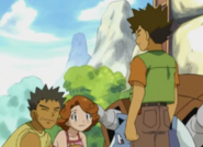 Brock and his parents
