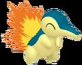 155Cyndaquil Pokémon HOME