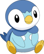 393Piplup DP anime 5