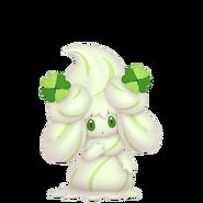 869Alcremie Matcha Cream Clover Sweet Pokémon HOME
