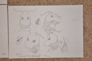 Lance Dragonite expressions concept