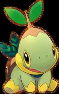 387Turtwig Pokémon Super Mystery Dungeon