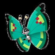 666Vivillon Garden Pattern Pokémon HOME