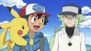 Ash and N