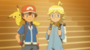 Ash and Clemont