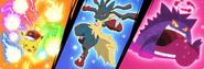 Pokémon Z-Moves, Mega Evolution and Gigantamax