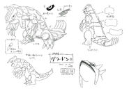 Groudon concept art