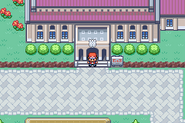 Pewter City - Museum Entrance (Gen III)